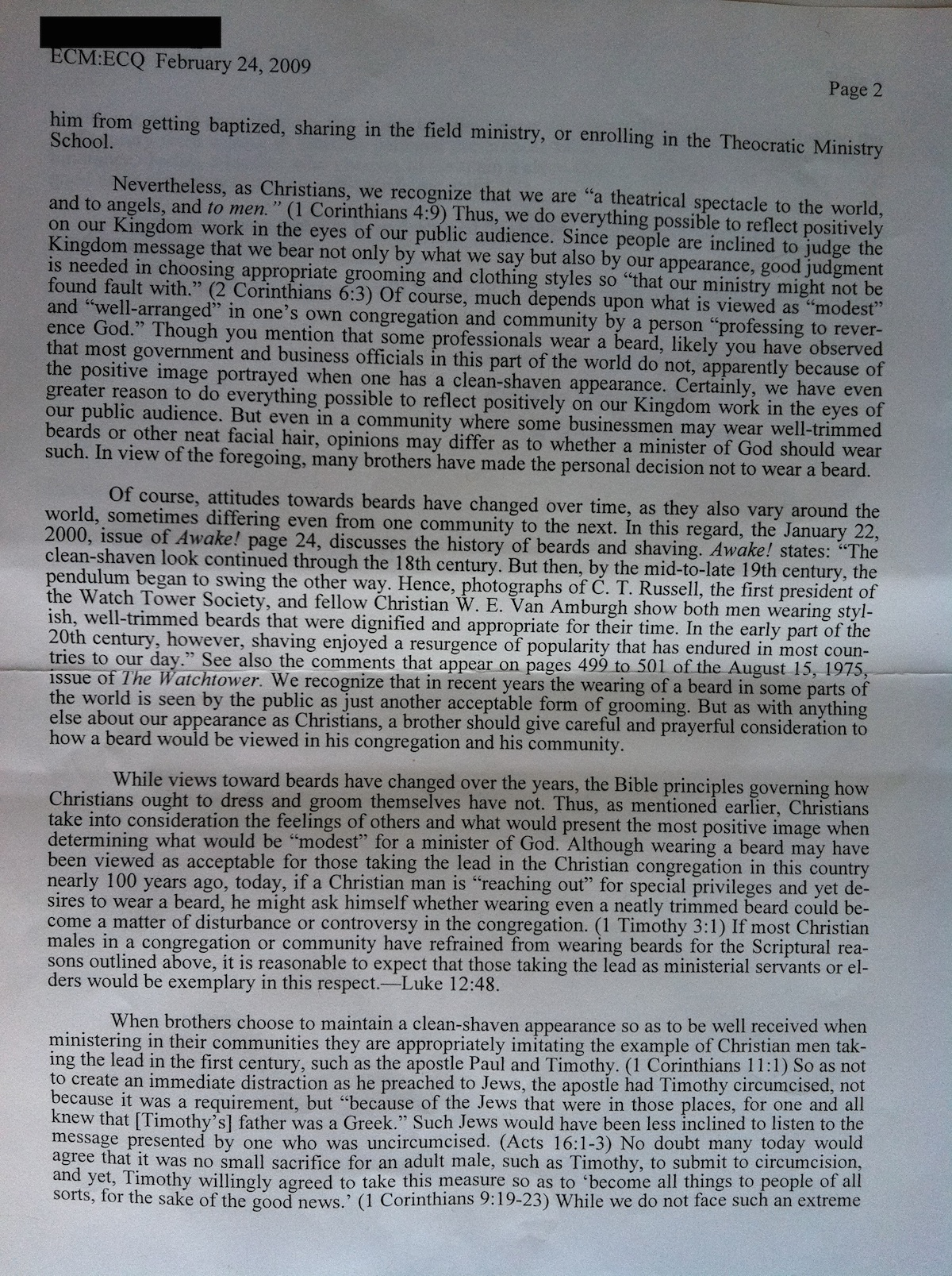 Letter of application letter of application zasady why beards are not allowed for jehovahs witnesses spiritdancerdesigns Gallery