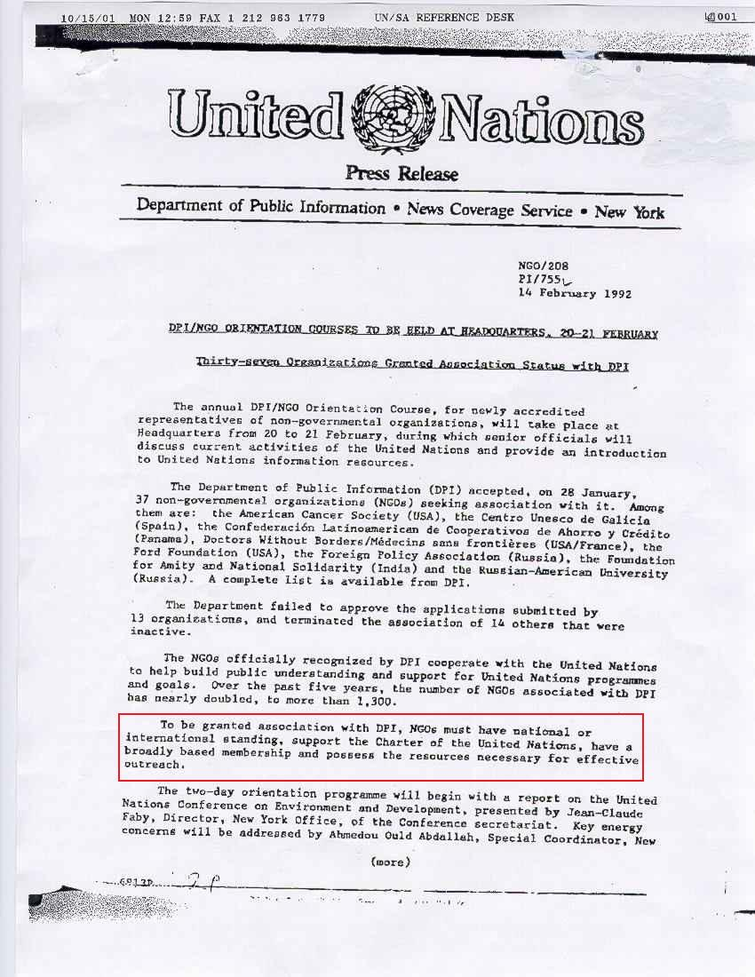 cover letter for internship ngo watchtower society united nations ngo status even were true that access the library required becoming affiliated ngo - Cover Letter United Nations