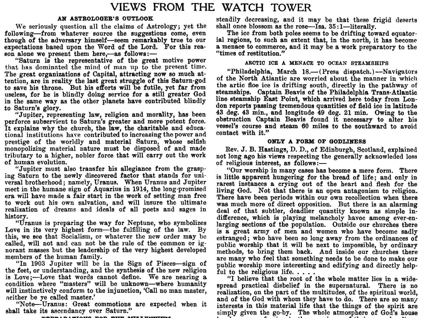 The da vinci code jehovahs witnesses adventists and freemasonry zions watch tower 1903 may 1 p131 biocorpaavc Images